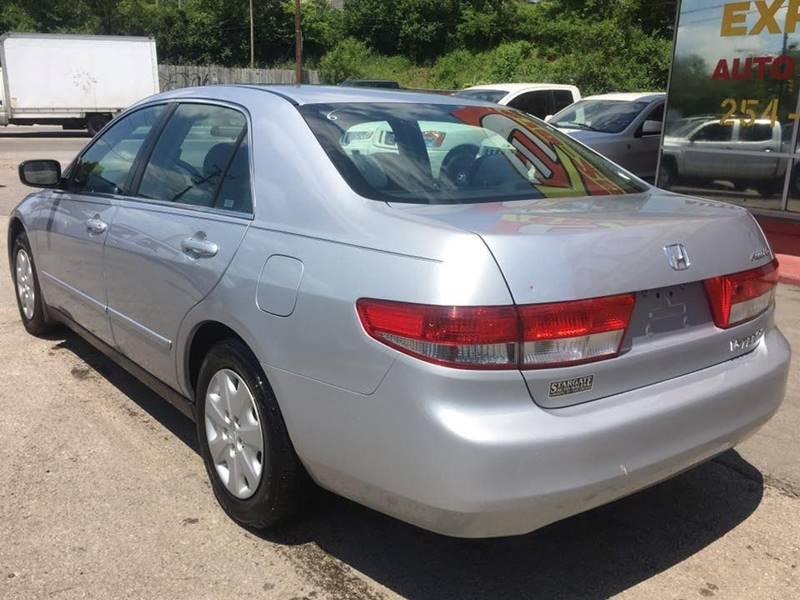 2003 Honda Accord LX 4dr Sedan w/Side Airbags - Nashville TN