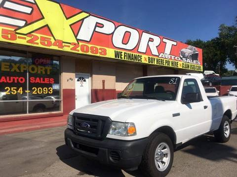 2009 Ford Ranger for sale at EXPORT AUTO SALES, INC. in Nashville TN