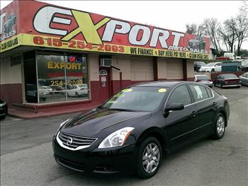 2012 Nissan Altima for sale at EXPORT AUTO SALES, INC. in Nashville TN