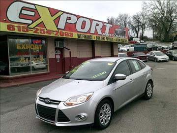 2012 Ford Focus for sale at EXPORT AUTO SALES, INC. in Nashville TN