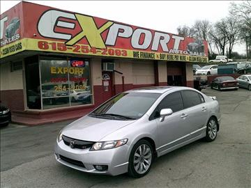 2011 Honda Civic for sale at EXPORT AUTO SALES, INC. in Nashville TN