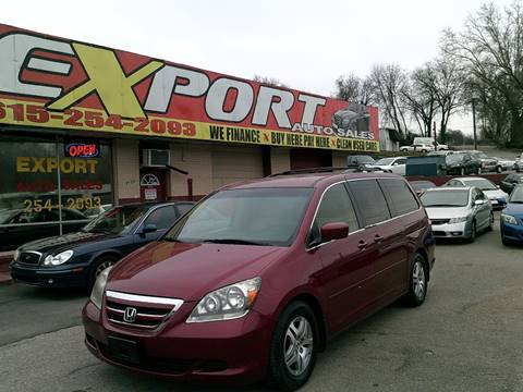 2006 Honda Odyssey for sale at EXPORT AUTO SALES, INC. in Nashville TN