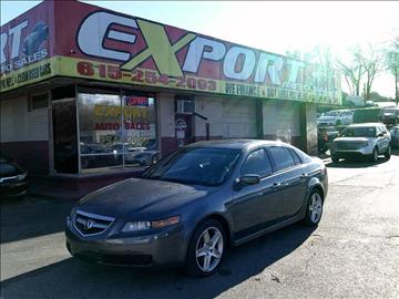 acura used cars financing for sale nashville export auto sales inc