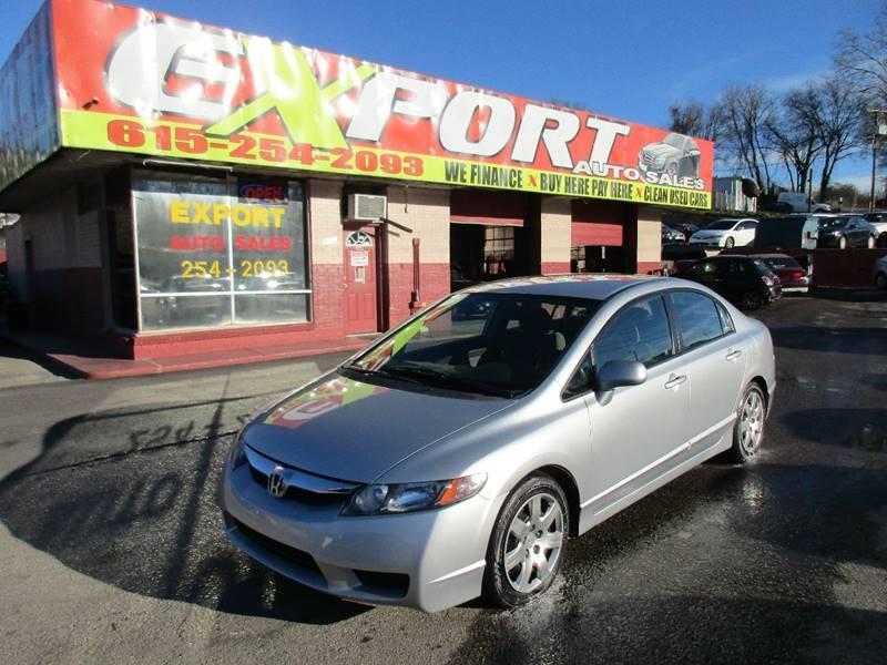 2009 Honda Civic LX 4dr Sedan 5A   Nashville TN