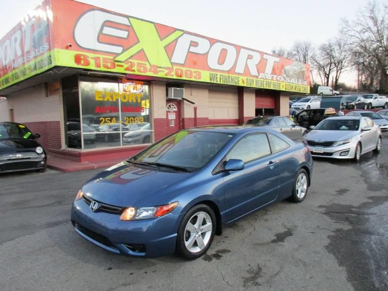 2008 Honda Civic for sale at EXPORT AUTO SALES, INC. in Nashville TN