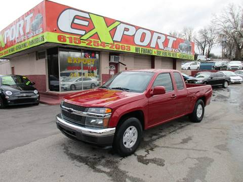 2005 Chevrolet Colorado for sale at EXPORT AUTO SALES, INC. in Nashville TN
