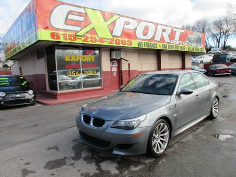 2008 BMW M5 for sale at EXPORT AUTO SALES, INC. in Nashville TN