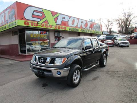 2005 Nissan Frontier for sale at EXPORT AUTO SALES, INC. in Nashville TN