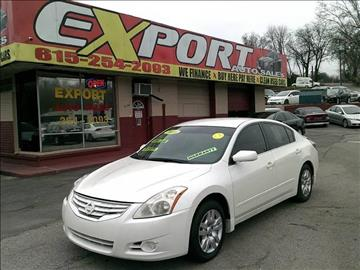 2010 Nissan Altima for sale at EXPORT AUTO SALES, INC. in Nashville TN