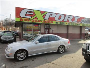 2006 Mercedes-Benz E-Class for sale at EXPORT AUTO SALES, INC. in Nashville TN