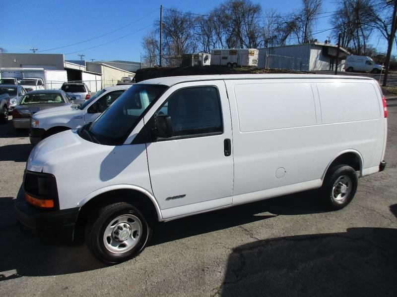2006 Chevrolet Express Cargo for sale at EXPORT AUTO SALES, INC. in Nashville TN