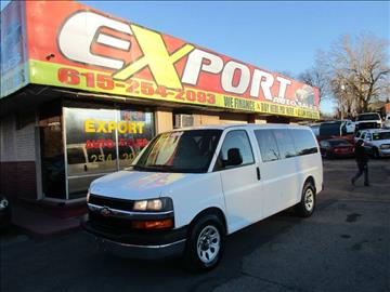 2010 Chevrolet Express Cargo for sale at EXPORT AUTO SALES, INC. in Nashville TN