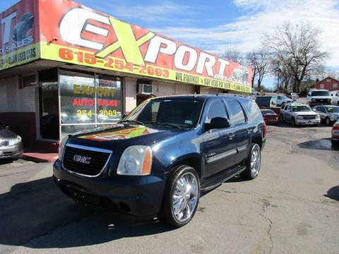 2007 GMC Yukon for sale at EXPORT AUTO SALES, INC. in Nashville TN