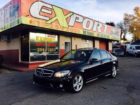 2010 Mercedes-Benz C-Class for sale at EXPORT AUTO SALES, INC. in Nashville TN