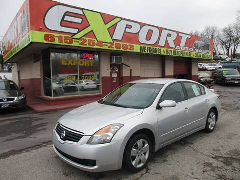2008 Nissan Altima for sale at EXPORT AUTO SALES, INC. in Nashville TN