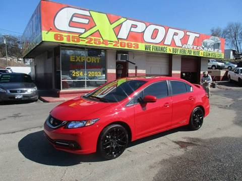 2014 Honda Civic for sale at EXPORT AUTO SALES, INC. in Nashville TN