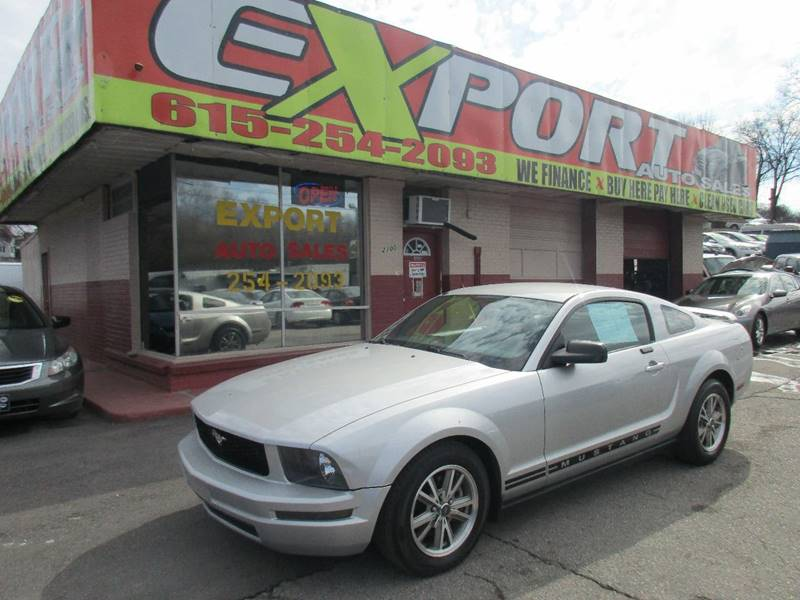 2005 Ford Mustang for sale at EXPORT AUTO SALES, INC. in Nashville TN