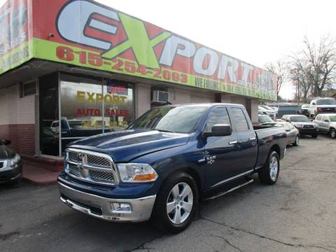 2010 Dodge Ram Pickup 1500 for sale at EXPORT AUTO SALES, INC. in Nashville TN