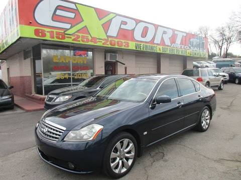 2007 Infiniti M35 for sale at EXPORT AUTO SALES, INC. in Nashville TN