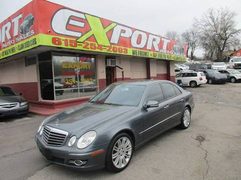 2007 Mercedes-Benz E-Class for sale at EXPORT AUTO SALES, INC. in Nashville TN