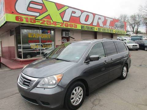 2010 Honda Odyssey for sale at EXPORT AUTO SALES, INC. in Nashville TN