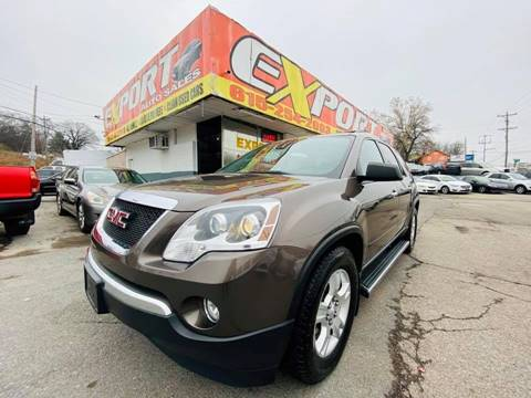 2011 GMC Acadia for sale at EXPORT AUTO SALES, INC. in Nashville TN
