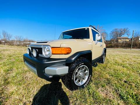 2012 Toyota FJ Cruiser for sale at EXPORT AUTO SALES, INC. in Nashville TN