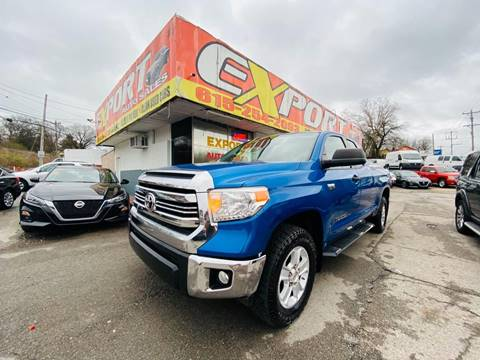 2016 Toyota Tundra for sale at EXPORT AUTO SALES, INC. in Nashville TN