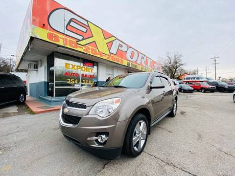 2012 Chevrolet Equinox for sale at EXPORT AUTO SALES, INC. in Nashville TN