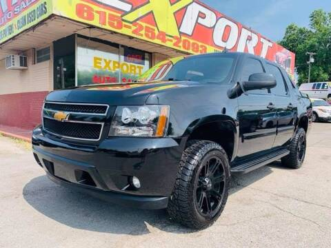 2011 Chevrolet Avalanche for sale at EXPORT AUTO SALES, INC. in Nashville TN