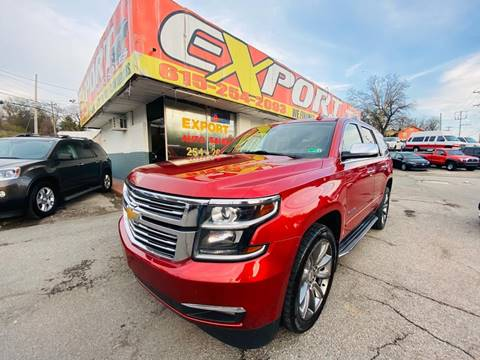 2015 Chevrolet Tahoe for sale at EXPORT AUTO SALES, INC. in Nashville TN