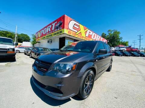 2014 Dodge Grand Caravan for sale at EXPORT AUTO SALES, INC. in Nashville TN