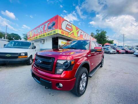 2013 Ford F-150 for sale at EXPORT AUTO SALES, INC. in Nashville TN