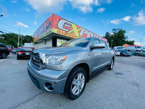 2007 Toyota Tundra for sale at EXPORT AUTO SALES, INC. in Nashville TN