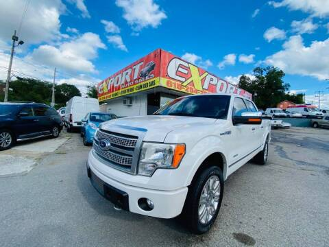 2012 Ford F-150 for sale at EXPORT AUTO SALES, INC. in Nashville TN