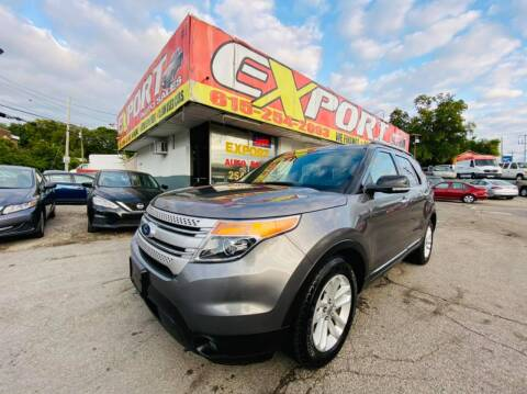 2011 Ford Explorer for sale at EXPORT AUTO SALES, INC. in Nashville TN