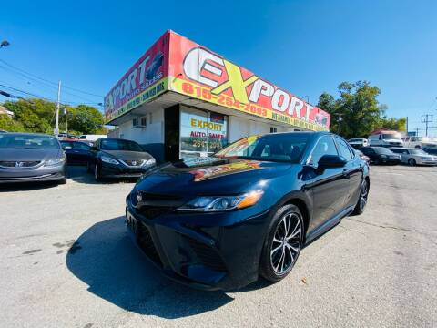 2019 Toyota Camry for sale at EXPORT AUTO SALES, INC. in Nashville TN