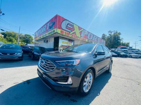 2019 Ford Edge for sale at EXPORT AUTO SALES, INC. in Nashville TN