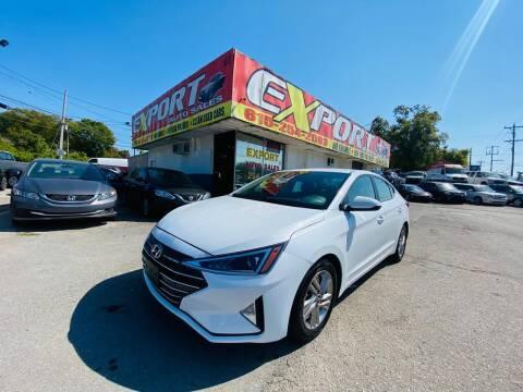 2020 Hyundai Elantra for sale at EXPORT AUTO SALES, INC. in Nashville TN