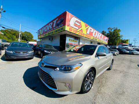 2018 Toyota Avalon for sale at EXPORT AUTO SALES, INC. in Nashville TN
