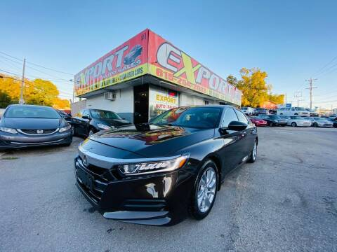 2018 Honda Accord for sale at EXPORT AUTO SALES, INC. in Nashville TN