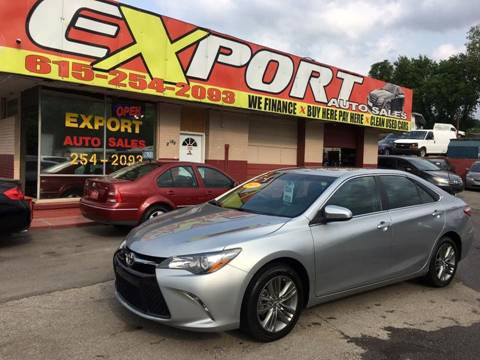 2015 Toyota Camry for sale in Nashville, TN