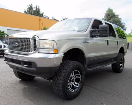 2003 Ford Excursion for sale at Platinum Motors in Portland OR