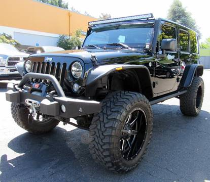 2014 Jeep Wrangler Unlimited for sale at Platinum Motors in Portland OR