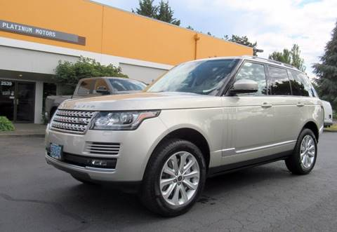 2013 Land Rover Range Rover for sale in Portland, OR