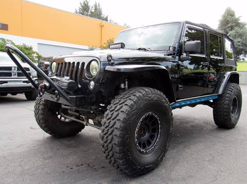 2008 Jeep Wrangler Unlimited for sale at Platinum Motors in Portland OR