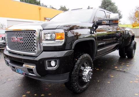 2015 GMC Sierra 3500HD for sale at Platinum Motors in Portland OR