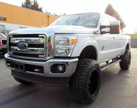 2015 Ford F-350 Super Duty for sale at Platinum Motors in Portland OR