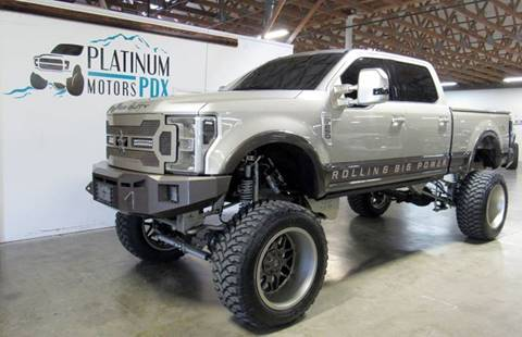 2017 Ford F-250 Super Duty for sale at Platinum Motors in Portland OR