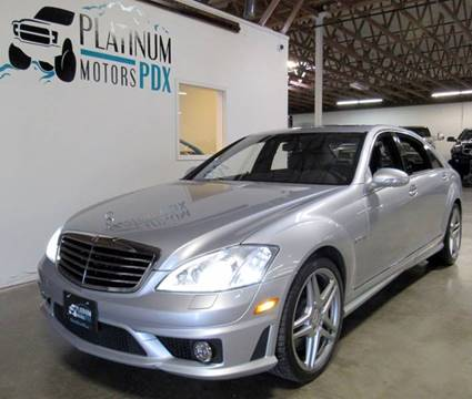 2009 Mercedes-Benz S-Class for sale at Platinum Motors in Portland OR